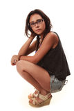 Latin girl Stock Images