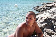 Latin guy Royalty Free Stock Images
