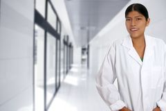 Latin hispanic young doctor woman Stock Photography