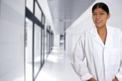 Latin hispanic young doctor woman Stock Photography