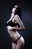 Latin lingerie model Stock Images