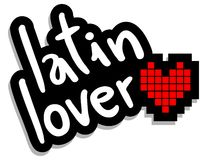 Latin lover Stock Image