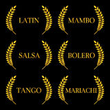 Latin Music Genres 2 Royalty Free Stock Photos
