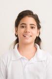 Latin preteen schoolgirl Royalty Free Stock Image
