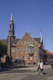 Latin Quarter in Copenhagen, Denmark. Old scandinavian houses, r Royalty Free Stock Photography
