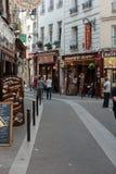 Latin Quarter of Paris Stock Image