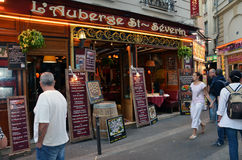 Latin Quarter of Paris Royalty Free Stock Photos