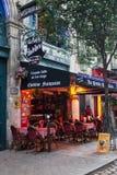 Latin Quarter Paris Stock Photography