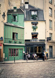 Latin Quarter Paris Royalty Free Stock Photo