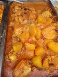 Latin Stew at the Festival Royalty Free Stock Photos