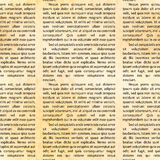 Latin text on old textured paper, seamless pattern Royalty Free Stock Photo