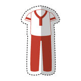 Latin typical costume male. Vector illustration design Stock Images