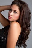 Latin Woman. Beautiful latin woman posing stock image