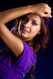 Latin Woman Royalty Free Stock Photo