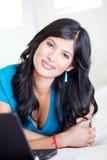 Latin woman portrait Stock Images