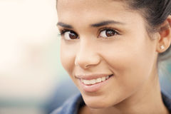 Latin woman portrait Stock Photo