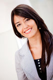 Latin woman smiling Stock Images