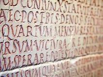 Latin writing background Royalty Free Stock Images
