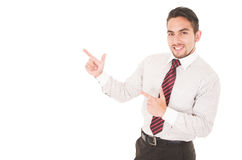 Latin young man wearing red tie Stock Image