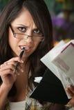 красивейшие счеты latina много женщина Стоковые Фотографии RF