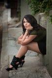 женщина latina милая Стоковая Фотография