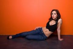 горячий latina Стоковая Фотография