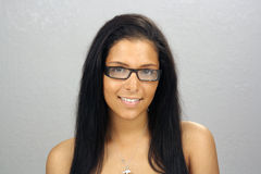 Latina adolescente hermosa Headshot (1) Fotos de archivo libres de regalías