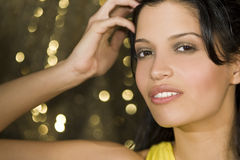 Latina Beauty Royalty Free Stock Images