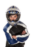 Latina Biker Stock Photography