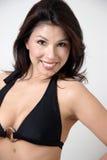 Latina in a bikini Stock Photos
