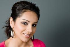 Latina bonito que smiing foto de stock royalty free