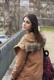 Latina brunette Royalty Free Stock Image