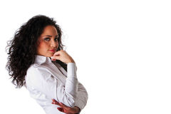Latina business woman Royalty Free Stock Photography