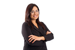 Latina business woman Stock Photography