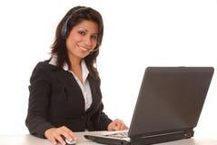 Latina Businesswoman Royalty Free Stock Photos