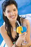 Latina Cocktail Stock Photography