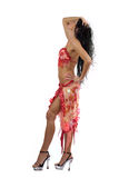 Latina dancer Royalty Free Stock Images