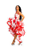 Latina dancer Stock Image