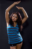 Latina Dancing / Clubbing Stock Images