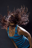 Latina Dancing / Clubbing Stock Image