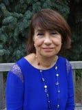 Latina en el vestido de domingo fotografía de archivo libre de regalías