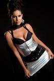 Latina Fashion Woman Stock Image