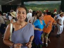 Latina am Festival lizenzfreie stockbilder