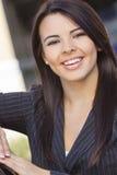Latina Hispanic Business Woman Businesswoman royalty free stock photos