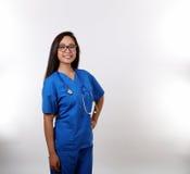 Latina-Krankenschwester Stockbild