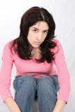 Latina Pout Stock Image