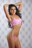 Latina-Schönheits-Eignung Stockfoto