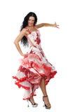 Latina-Tänzer Stockbild