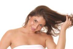 Latina triguenho encantador Foto de Stock