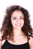 Latina woman smiling Royalty Free Stock Photo